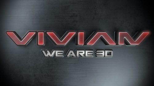 3D Logo Animation Vivian Entertainment Media AG